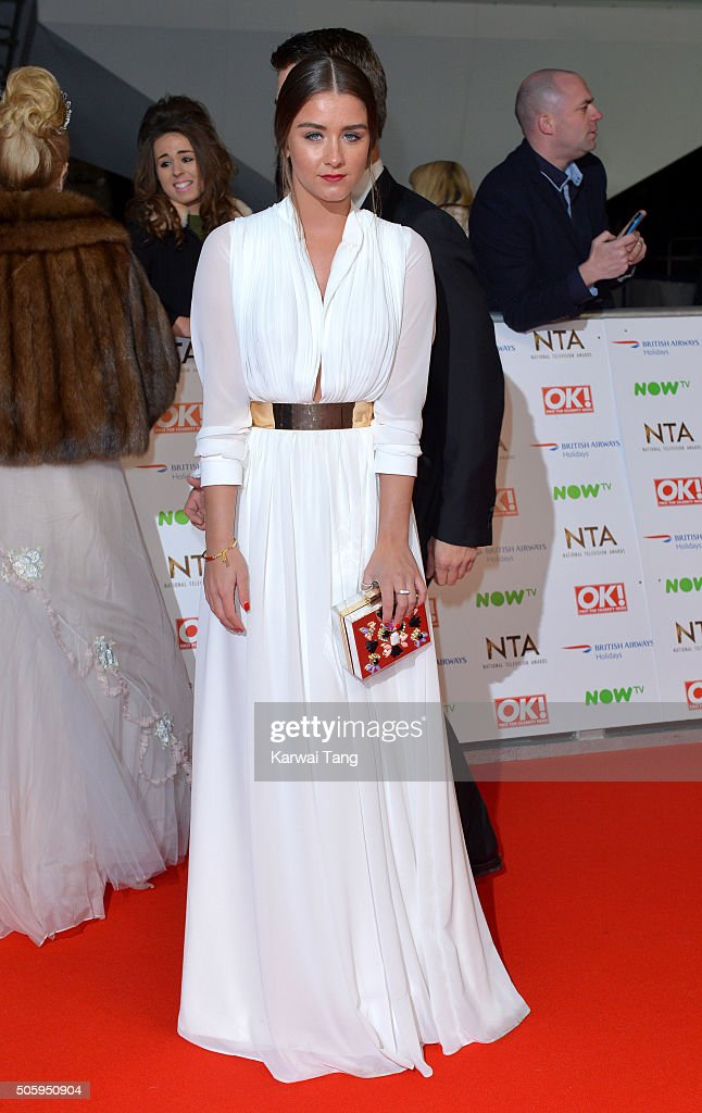 Brooke Vincent attends the 21st National Television Awards at The O2 Arena on January 20, 2016 in London, England.