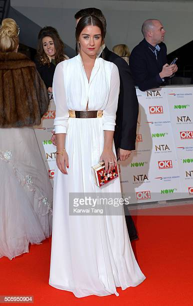 Brooke Vincent attends the 21st National Television Awards at The O2 Arena on January 20 2016 in London England