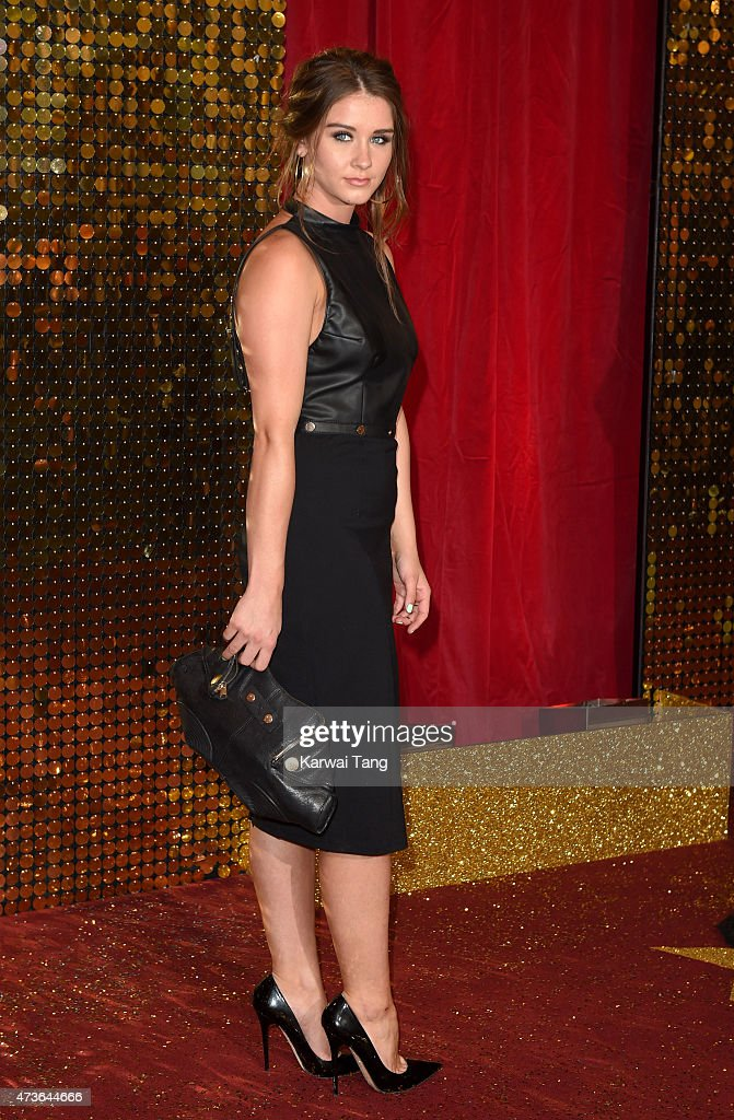 Brooke Vincent attends the British Soap Awards at Manchester Palace Theatre on May 16, 2015 in Manchester, England.