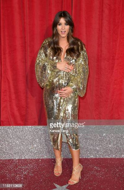 Brooke Vincent attends the British Soap Awards at The Lowry Theatre on June 01 2019 in Manchester England