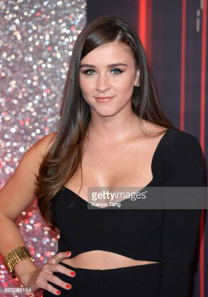 Brooke Vincent attends the British Soap Awards at The Lowry Theatre on June 3 2017 in Manchester England