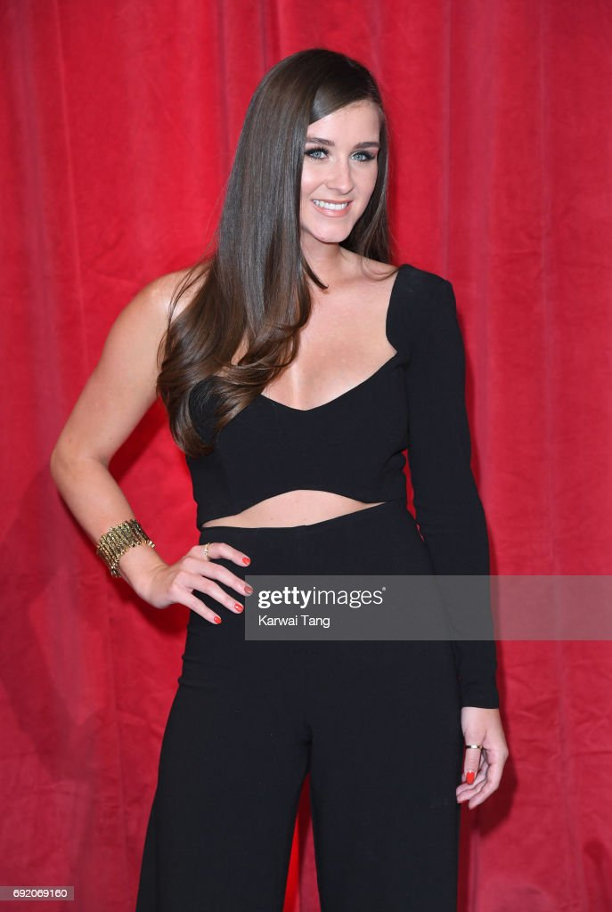 Brooke Vincent attends the British Soap Awards at The Lowry Theatre on June 3, 2017 in Manchester, England.