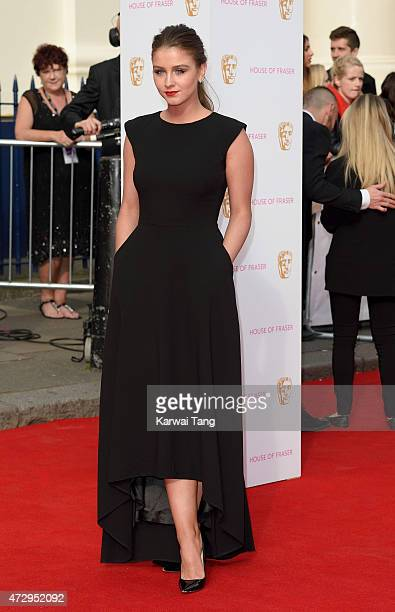 Brooke Vincent attends the House of Fraser British Academy Television Awards at Theatre Royal on May 10 2015 in London England