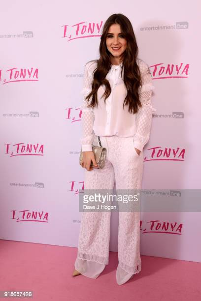 Brooke Vincent attends the 'I Tonya' UK premiere held at The Washington Mayfair Hotel on February 15 2018 in London England