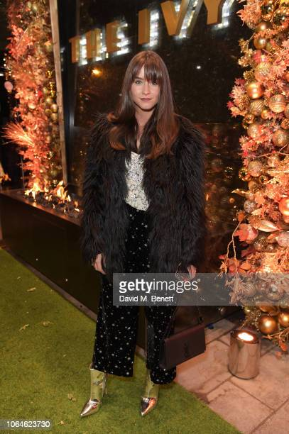 Brooke Vincent attends The Ivy Spinningfields VIP Launch Party on November 23 2018 in Manchester England