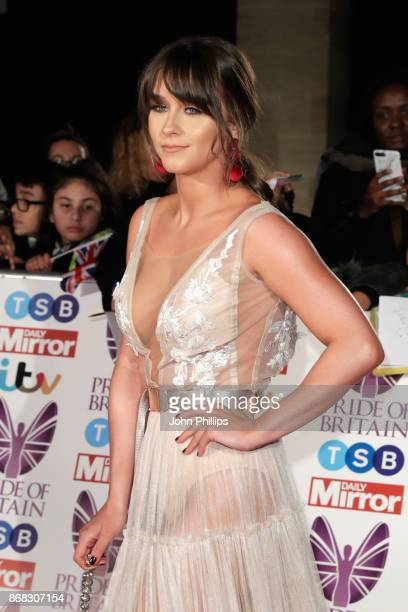 Brooke Vincent attends the Pride Of Britain Awards at Grosvenor House on October 30 2017 in London England