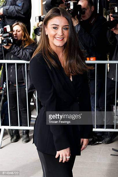 Brooke Vincent attends the TRIC Awards at Grosvenor House Hotel at The Grosvenor House Hotel on March 8 2016 in London England