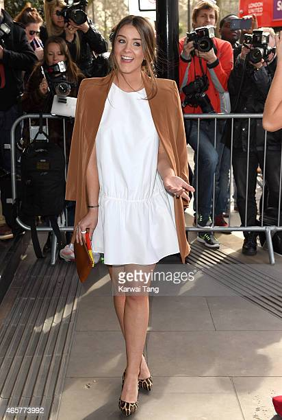 Brooke Vincent attends the TRIC Awards at Grosvenor House Hotel on March 10 2015 in London England