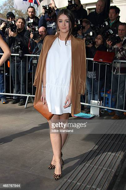 Brooke Vincent attends the TRIC Awards on March 10 2015 in London England