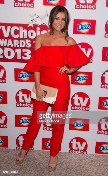 Brooke Vincent attends the TV Choice Awards 2013 at The Dorchester on September 9 2013 in London England