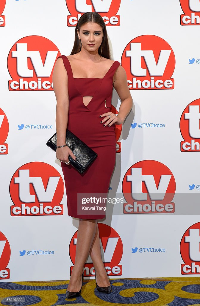 Brooke Vincent attends the TV Choice Awards 2015 at Hilton Park Lane on September 7, 2015 in London, England.
