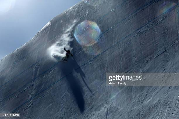 Brooke Voigt of Canada competes in the Snowboard Ladies' Slopestyle Final on day three of the PyeongChang 2018 Winter Olympic Games at Phoenix Snow...