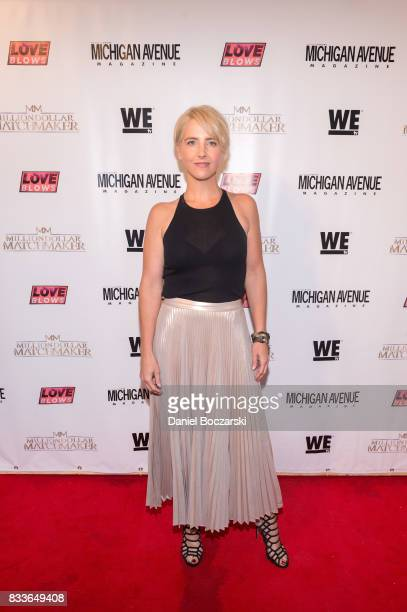 Brooke Weisbrod attends WE tv's LOVE BLOWS Premiere Event at Flamingo Rum Club on August 16 2017 in Chicago Illinois
