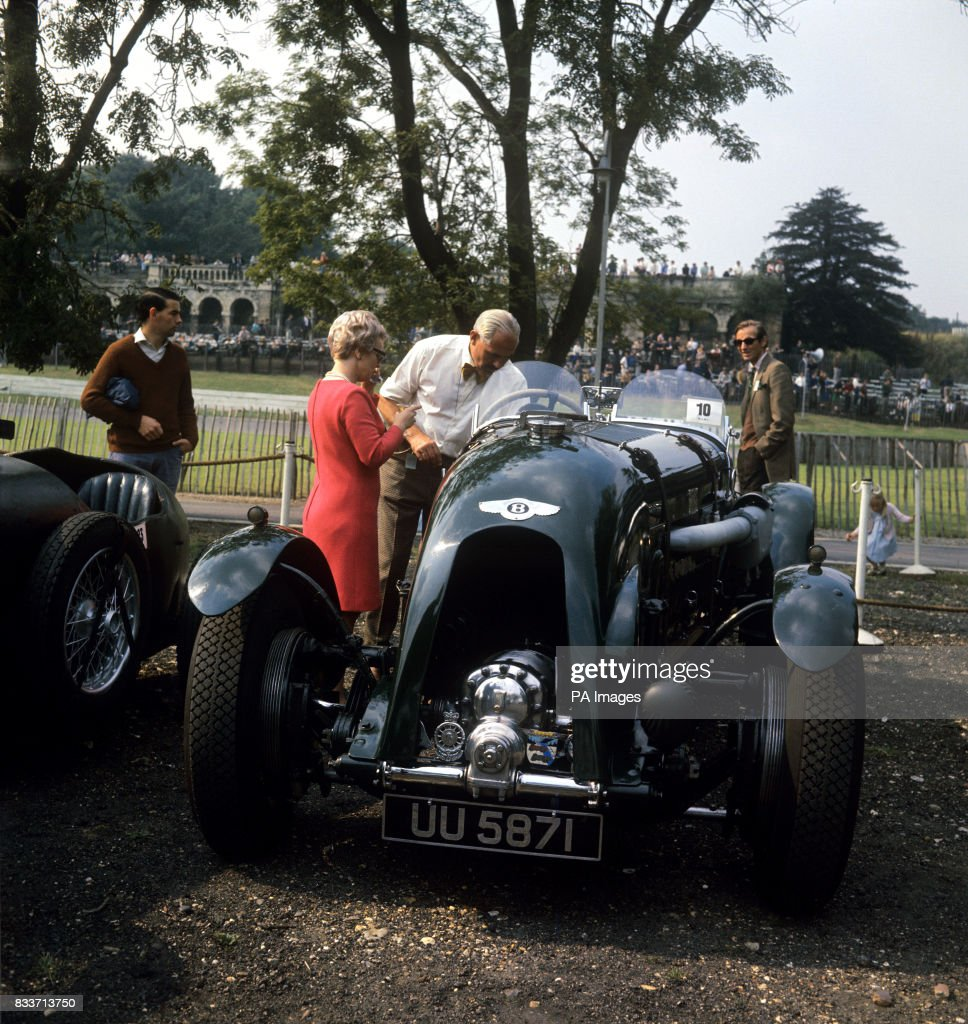 Motor Sport   Vintage Bentley   Crystal Palace