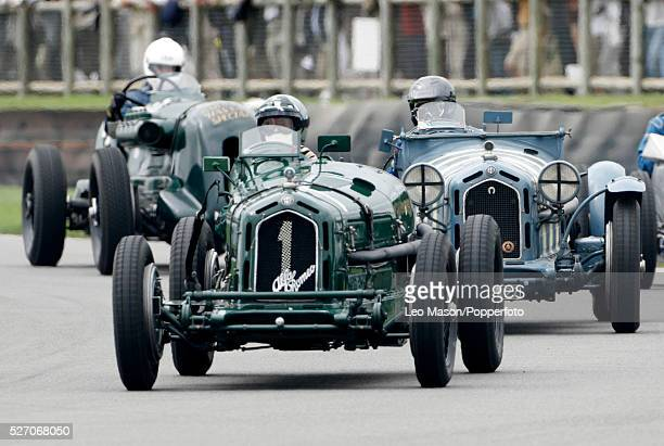 Hurbert Fabri in Alfa Romeo 8C 2300 Monza during the 2007 Goodwood Revival Meeting at Goodwood Motor Racing Track in Sussex England UK