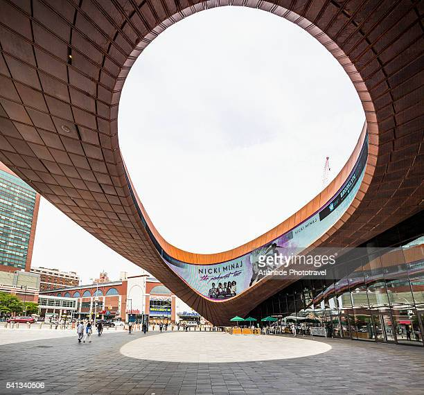 brooklyn, barclays center, the oculus - barclays center brooklyn stock pictures, royalty-free photos & images
