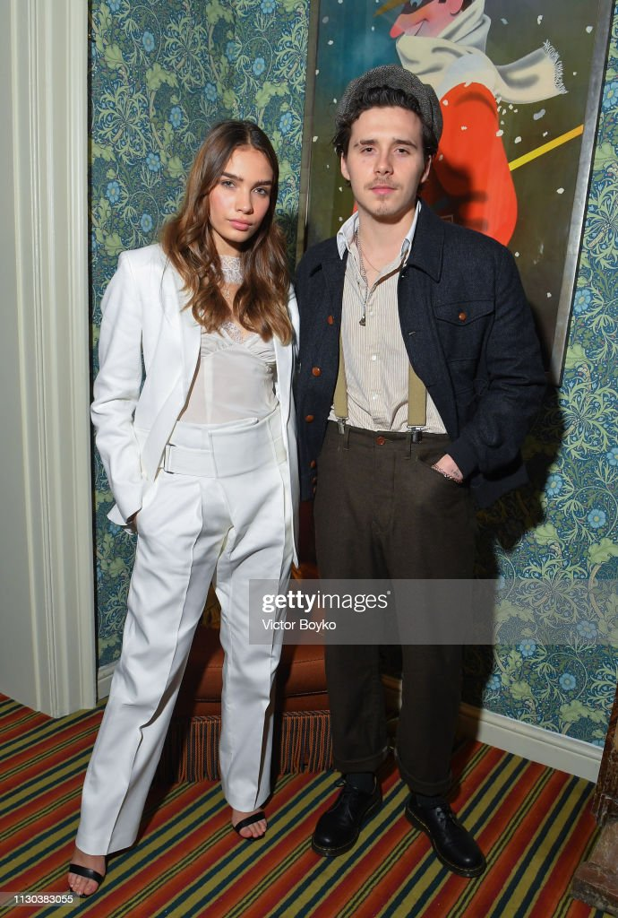 Victoria Beckham x YouTube Fashion & Beauty After Party at London Fashion Week Hosted by Derek Blasberg and David Beckham : News Photo