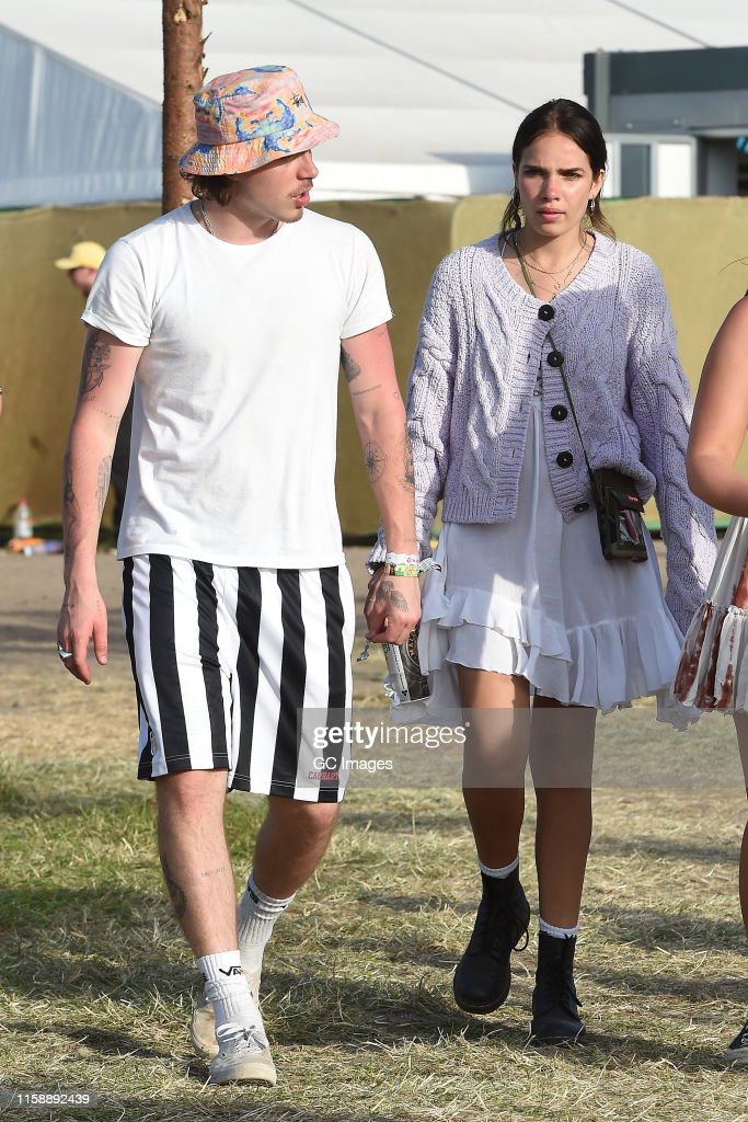 Glastonbury 2019 Celebrity Sightings : News Photo