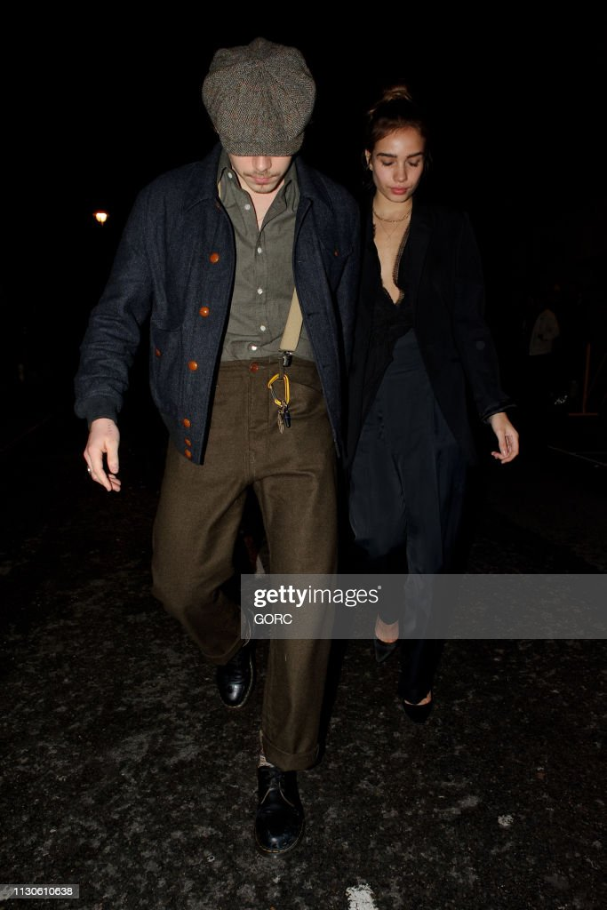 GBR: London Celebrity Sightings -  February 18, 2019