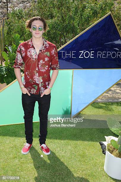 Brooklyn Beckham arrives at ZOEasis presented by The Zoe Report and Guess on April 16 2016 in Palm Springs California