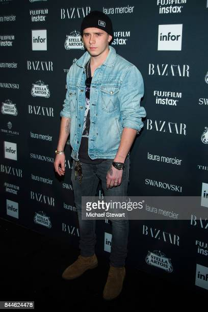 Brooklyn Beckham attends 2017 Harper's Bazaar Icons at The Plaza Hotel on September 8 2017 in New York City