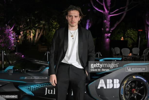 Brooklyn Beckham attends a private dinner hosted by Alejandro Agag to celebrate the World Premiere of Formula E documentary And We Go Green during...