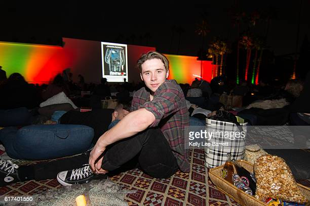 Brooklyn Beckham attends Cinespia's screening of 'Nightmare On Elm Street' held at Hollywood Forever on October 22 2016 in Hollywood California