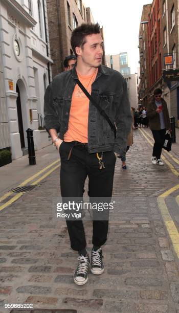 Brooklyn Beckham seen in Covent Garden on May 17 2018 in London England