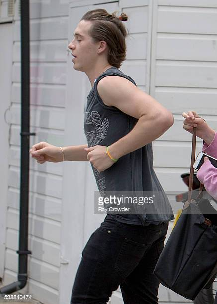 Brooklyn Beckham sighting on June 07 2016 in London United Kingdom