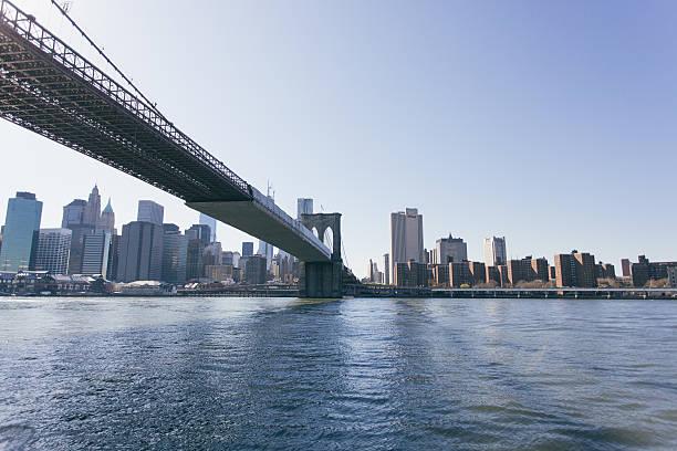 Brooklyn Bridge And Lower Manhattan Wall Art