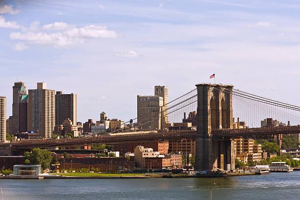 Brooklyn Bridge From Manhattan Bridge Wall Art