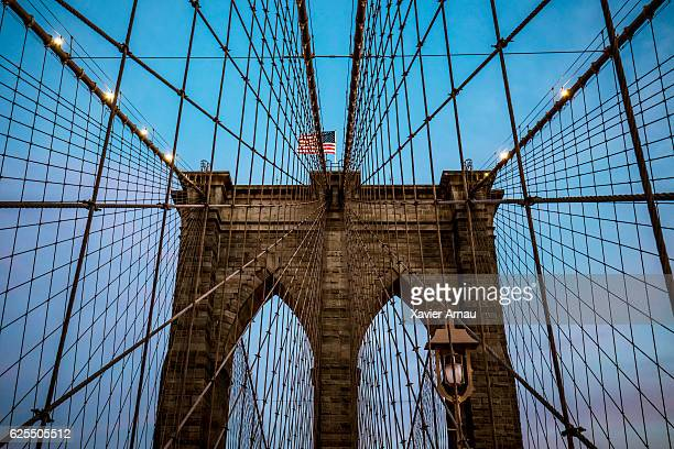 Brooklyn Bridge in Manhattan, New York, USA
