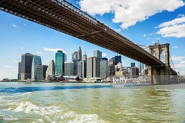 Brooklyn bridge und Manhattan, New York