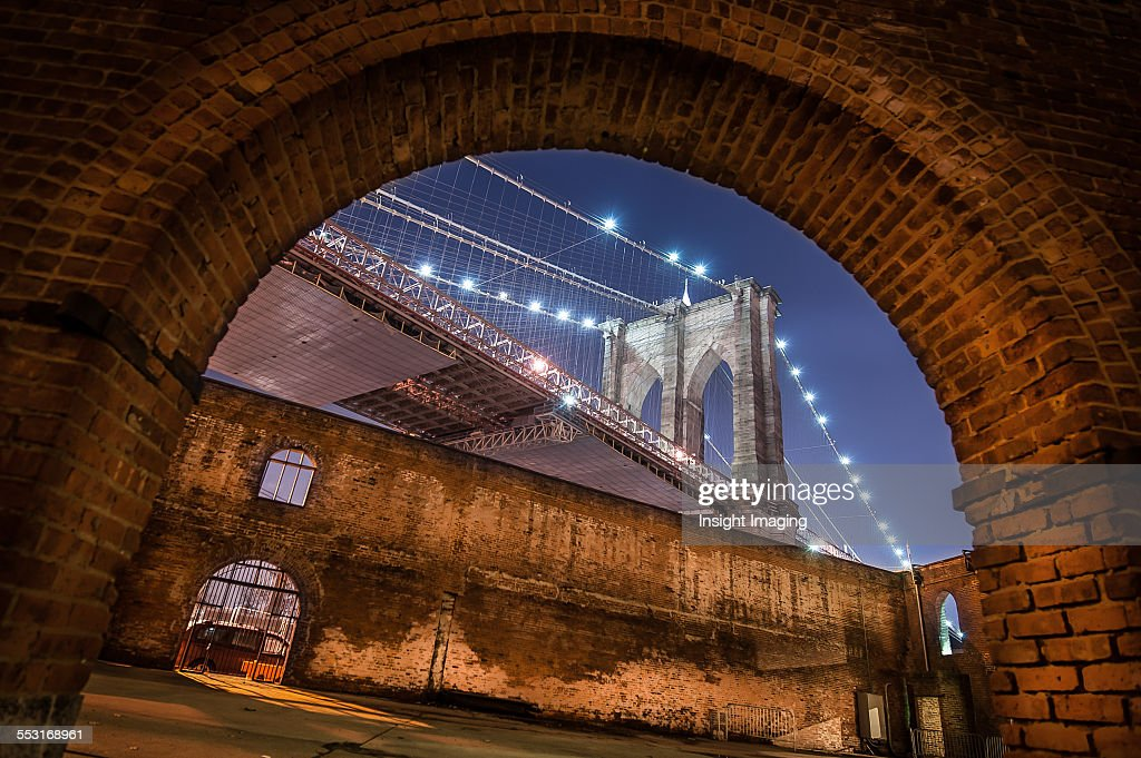 Brooklyn Bridge : Stock Photo