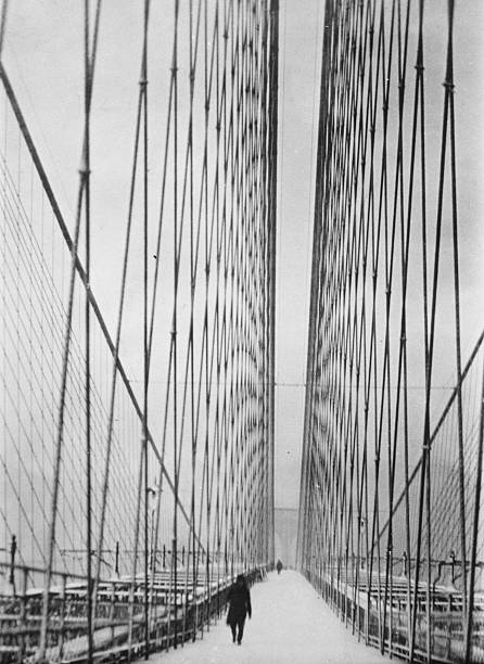 Steel Cabled Bridge Wall Art