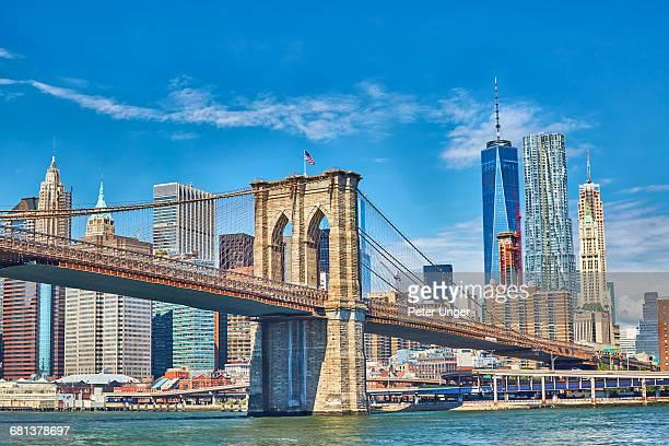 Brooklyn Bridge,New York City,USA