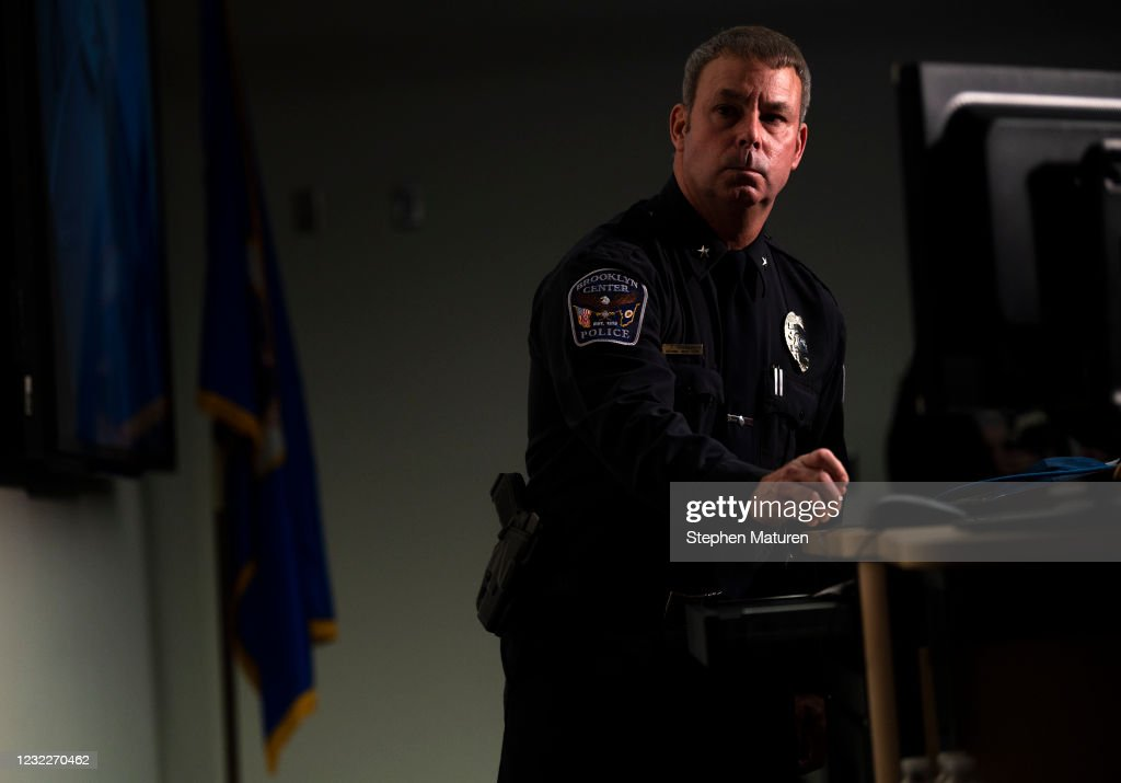 Police Shooting Near Minneapolis Sparks Protest : News Photo