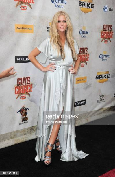 Brooklyn Decker arrives at Spike TV's 4th Annual Guys Choice Awards held at Sony Studios on June 5 2010 in Los Angeles California