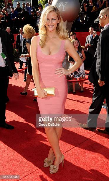 Brooklyn Decker arrives at the 2010 ESPY Awards at the Nokia Theatre LA Live on July 14 2010 in Los Angeles California