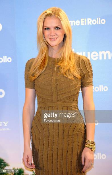 Brooklyn Decker attends a photocall for 'Sigueme El Rollo' at the Villamagna Hotel on February 22, 2011 in Madrid, Spain.