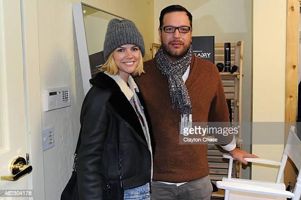 Brooklyn Decker attends Music Lodge Hosts MTV Interview Studio on January 26 2015 in Park City Utah