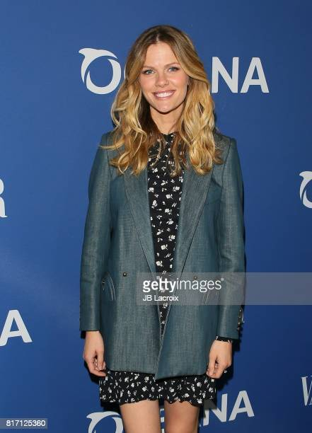 Brooklyn Decker attends Oceana and The Walden Woods Project present Rock Under The Stars With Don Henley and Friends event on July 17 2017 in Los...
