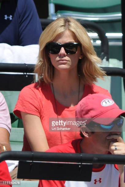 Brooklyn Decker attends Sony Ericsson Open at Crandon Park Tennis Center on March 26 2011 in Key Biscayne Florida