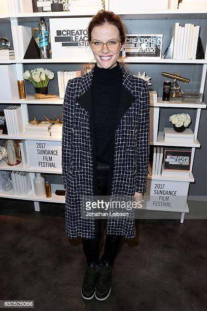 Brooklyn Decker attends the Creators League Studio At 2017 Sundance Film  Festival Day 5 at PepsiCo s 15eb830457ee
