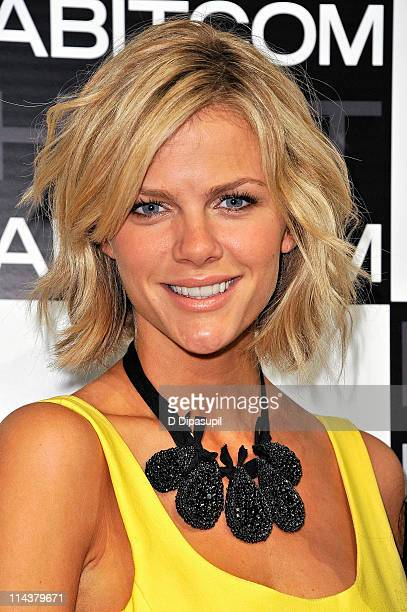 Brooklyn Decker attends the launch of MYHABITcom at Skylight West on May 18 2011 in New York City