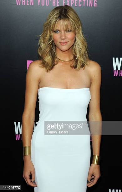 Brooklyn Decker attends the What To Expect When You're Expecting New York Screening at AMC Lincoln Square Theater on May 8 2012 in New York City