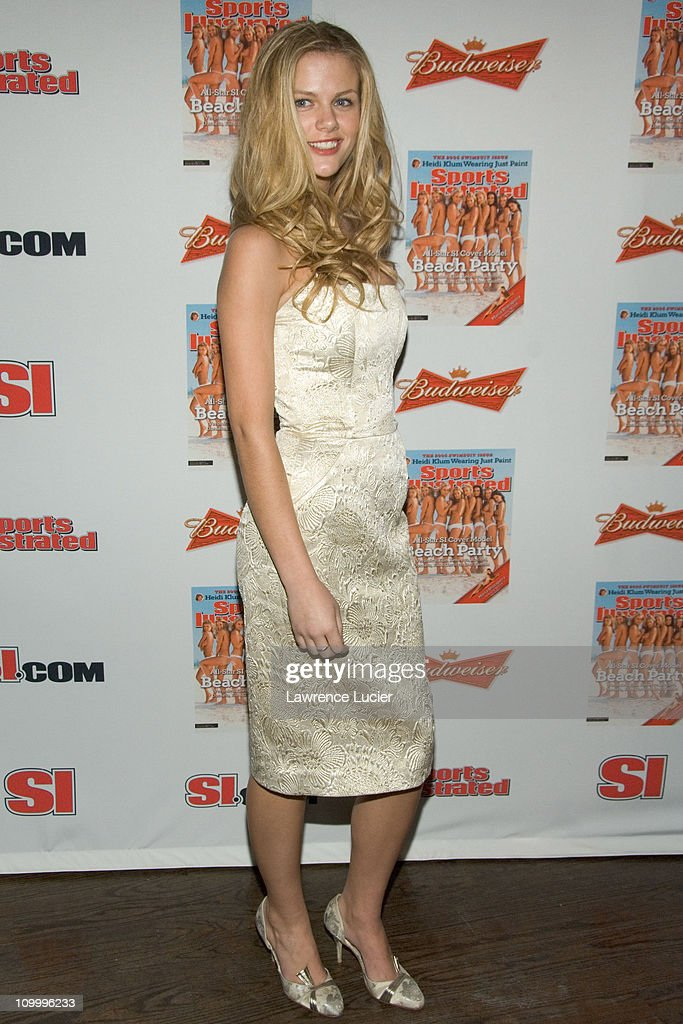 Brooklyn Decker during 2006 Sports Illustrated Swimsuit Issue Press Conference at Crobar in New York City, New York, United States.