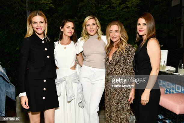 Brooklyn Decker Lindsey Kraft June Diane Raphael Allyson B Fanger and guest attend the Finery App launch party hosted by Brooklyn Decker at Microsoft...