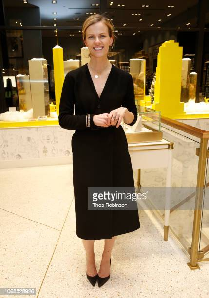 Brooklyn Decker poses at Brooklyn Decker hosts Finery Styling Event at Kendra Scott SoHo on December 4 2018 in New York City