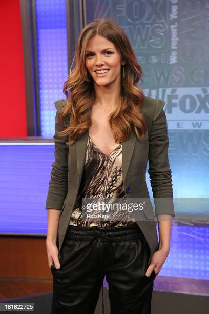 Brooklyn Decker visits Fox And Friends at FOX Studios on February 13 2013 in New York City